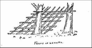 Frame of Lean-to