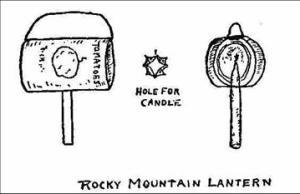 Rocky Mountain Lantern